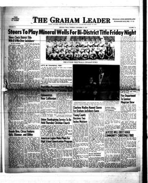 Primary view of object titled 'The Graham Leader (Graham, Tex.), Vol. 77, No. 16, Ed. 1 Thursday, November 27, 1952'.