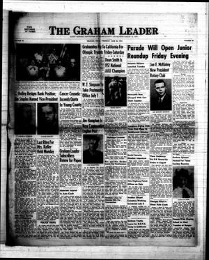 Primary view of object titled 'The Graham Leader (Graham, Tex.), Vol. 76, No. 46, Ed. 1 Thursday, June 26, 1952'.
