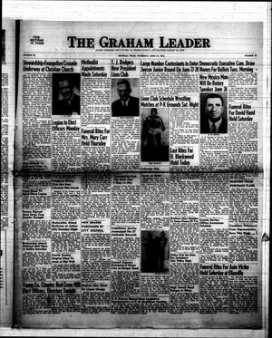 Primary view of object titled 'The Graham Leader (Graham, Tex.), Vol. 76, No. 45, Ed. 1 Thursday, June 19, 1952'.