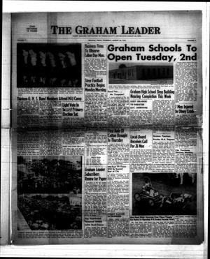 Primary view of object titled 'The Graham Leader (Graham, Tex.), Vol. 77, No. 3, Ed. 1 Thursday, August 28, 1952'.