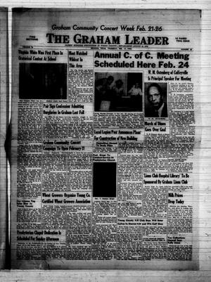 Primary view of object titled 'The Graham Leader (Graham, Tex.), Vol. 73, No. 28, Ed. 1 Thursday, February 17, 1949'.