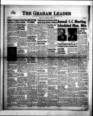 Primary view of object titled 'The Graham Leader (Graham, Tex.), Vol. 77, No. 35, Ed. 1 Thursday, April 9, 1953'.