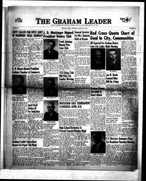 Primary view of object titled 'The Graham Leader (Graham, Tex.), Vol. 77, No. 33, Ed. 1 Thursday, March 26, 1953'.