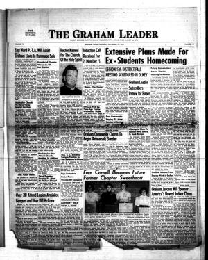 Primary view of object titled 'The Graham Leader (Graham, Tex.), Vol. 77, No. 14, Ed. 1 Thursday, November 13, 1952'.