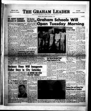 Primary view of object titled 'The Graham Leader (Graham, Tex.), Vol. 78, No. 4, Ed. 1 Thursday, September 3, 1953'.
