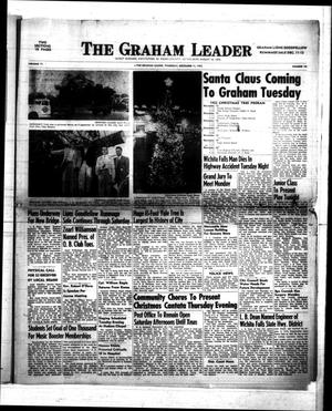 Primary view of object titled 'The Graham Leader (Graham, Tex.), Vol. 77, No. 18, Ed. 1 Thursday, December 11, 1952'.
