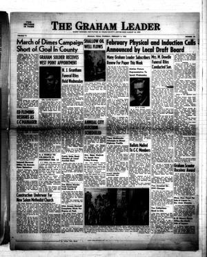 Primary view of object titled 'The Graham Leader (Graham, Tex.), Vol. 77, No. 26, Ed. 1 Thursday, February 5, 1953'.