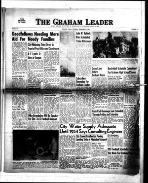 Primary view of object titled 'The Graham Leader (Graham, Tex.), Vol. 77, No. 19, Ed. 1 Thursday, December 18, 1952'.