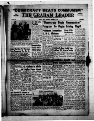 Primary view of object titled 'The Graham Leader (Graham, Tex.), Vol. 74, No. 17, Ed. 1 Thursday, December 1, 1949'.