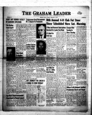 Primary view of object titled 'The Graham Leader (Graham, Tex.), Vol. 76, No. 28, Ed. 1 Thursday, February 21, 1952'.
