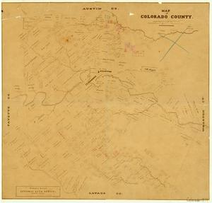 Primary view of object titled 'Colorado County'.