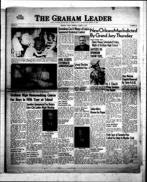 Primary view of object titled 'The Graham Leader (Graham, Tex.), Vol. 77, No. 30, Ed. 1 Thursday, March 5, 1953'.