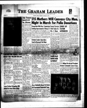Primary view of object titled 'The Graham Leader (Graham, Tex.), Vol. 77, No. 25, Ed. 1 Thursday, January 29, 1953'.
