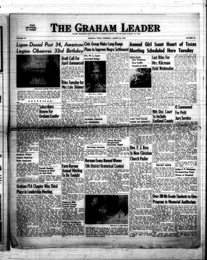 Primary view of object titled 'The Graham Leader (Graham, Tex.), Vol. 76, No. 32, Ed. 1 Thursday, March 20, 1952'.