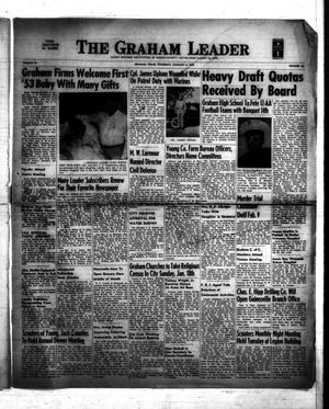 Primary view of object titled 'The Graham Leader (Graham, Tex.), Vol. 77, No. 22, Ed. 1 Thursday, January 8, 1953'.