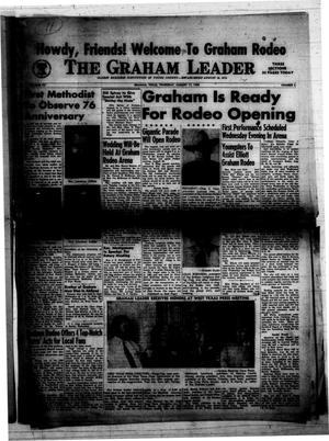 Primary view of object titled 'The Graham Leader (Graham, Tex.), Vol. 75, No. 2, Ed. 1 Thursday, August 17, 1950'.