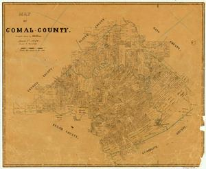 Primary view of object titled 'Comal County'.