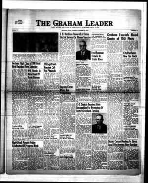 Primary view of object titled 'The Graham Leader (Graham, Tex.), Vol. 77, No. 11, Ed. 1 Thursday, October 23, 1952'.