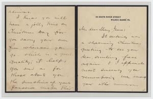 Primary view of object titled '[Letter from Andrew McClintock to Jeane, December 23, 1914]'.
