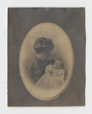 Primary view of object titled '[Woman Holding a Baby]'.