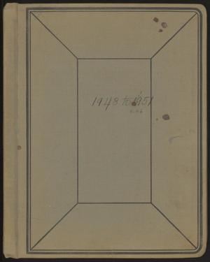 Primary view of object titled '[Kempner Scrapbook 1948-1951]'.