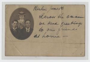 Primary view of object titled '[Photograph of a Family]'.
