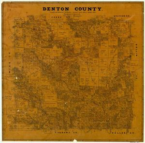 Primary view of object titled 'Denton County'.