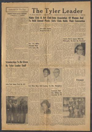 The Tyler Leader (Tyler, Tex.), Vol. 10, No. 32, Ed. 1 Saturday, July 15, 1972