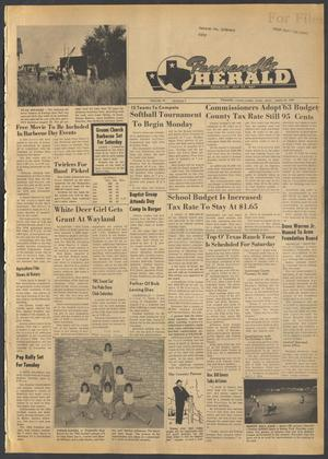 Primary view of object titled 'Panhandle Herald (Panhandle, Tex.), Vol. 76, No. 5, Ed. 1 Thursday, August 16, 1962'.