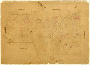 Primary view of object titled 'DeWitt County'.