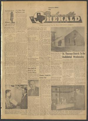 Primary view of object titled 'Panhandle Herald (Panhandle, Tex.), Vol. 74, No. 34, Ed. 1 Thursday, March 9, 1961'.