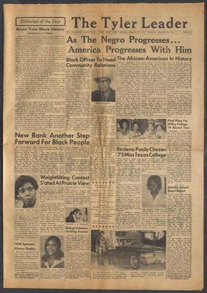 The Tyler Leader (Tyler, Tex.), Vol. 13, No. 24, Ed. 1 Thursday, February 19, 1976