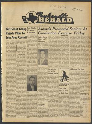 Primary view of object titled 'Panhandle Herald (Panhandle, Tex.), Vol. 74, No. 45, Ed. 1 Thursday, May 24, 1962'.