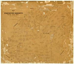 Primary view of object titled 'Fayette County'.