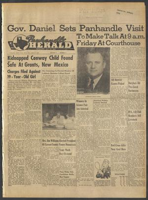 Primary view of object titled 'Panhandle Herald (Panhandle, Tex.), Vol. 75, No. 35, Ed. 1 Thursday, March 15, 1962'.