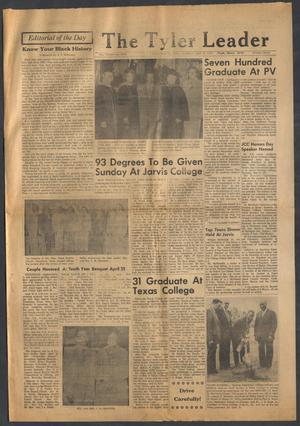 Primary view of object titled 'The Tyler Leader (Tyler, Tex.), Vol. 15, No. 9, Ed. 1 Thursday, May 12, 1977'.