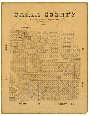 Primary view of object titled 'Garza County'.