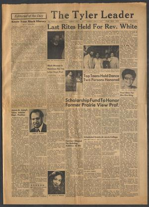 Primary view of object titled 'The Tyler Leader (Tyler, Tex.), Vol. 15, No. 7, Ed. 1 Thursday, April 14, 1977'.