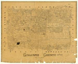 Primary view of object titled 'Gillespie County'.