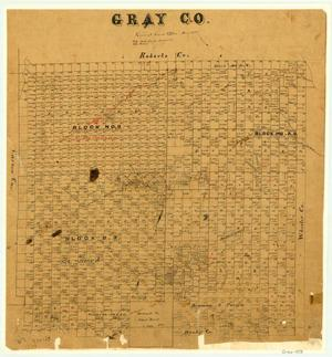 Primary view of object titled 'Gray County'.