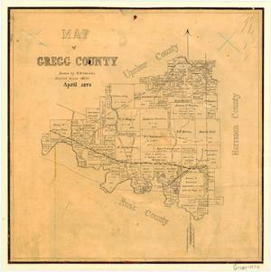 Primary view of object titled 'Gregg County'.