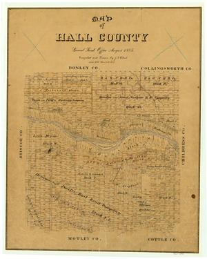 Primary view of object titled 'Hall County'.