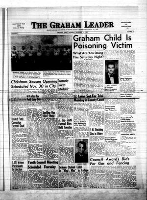 Primary view of object titled 'The Graham Leader (Graham, Tex.), Vol. 88, No. 14, Ed. 1 Thursday, November 14, 1963'.