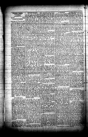 Primary view of object titled 'The Graham Leader (Graham, Tex.), Vol. [12], No. [23], Ed. 1 Thursday, January 19, 1888'.