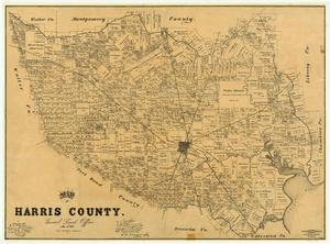 Primary view of object titled 'Harris County'.
