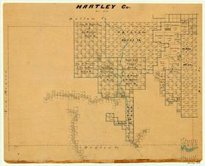 Primary view of object titled 'Hartley County'.