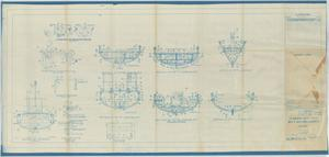 Primary view of object titled 'Standard Boat Plan- 30FT Motor Launch'.