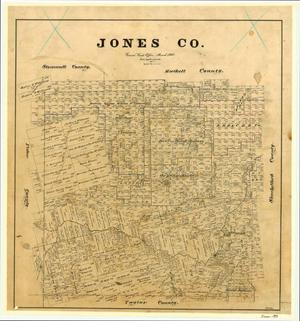 Primary view of object titled 'Jones County'.