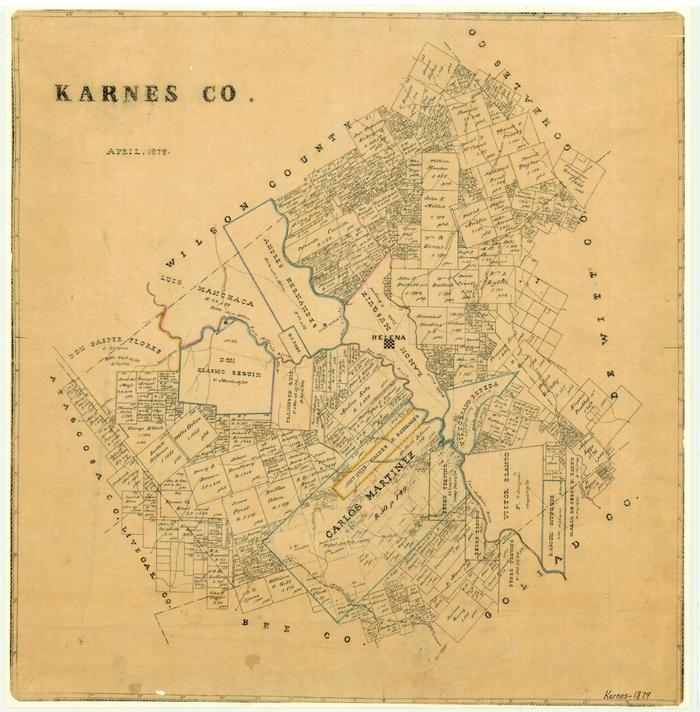 Karnes County - The Portal to Texas History on hale county road map, mason county road map, blanco county road map, bee county road map, kent county road map, hood county road map, la salle county road map, lee county road map, hartley county road map, dallam county road map, gregg county road map, jasper county road map, putnam county road map, mills county road map, wilson county road map, jim wells county road map, williamson county road map, upton county road map, rockwall county road map,