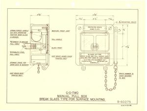 Primary view of object titled 'CO2, Carbon Dioxide, Fire Extinguishing Equipment Instructions [Fire Fighting]'.